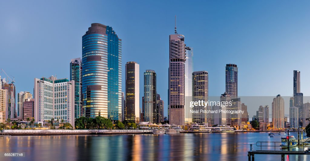 Brisbane Skyline : Stock Photo