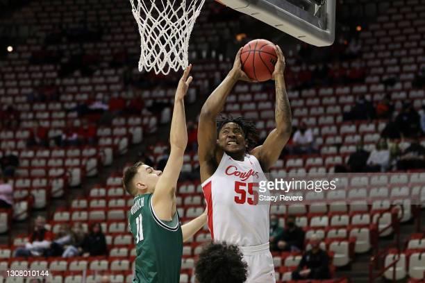 Brison Gresham Houston Cougars Basketball Jersey - Black