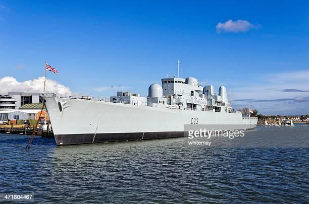HMS Bristol at Portsmouth