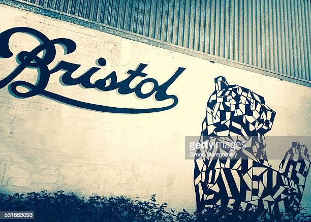 Bristol bear mural