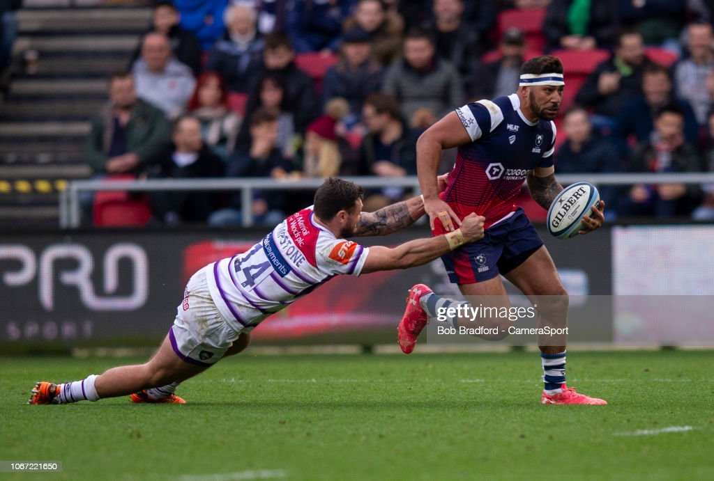 Bristol Bears v Leicester Tigers - Gallagher Premiership Rugby : News Photo
