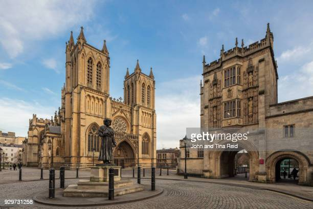 bristol cathedral - bristol stock photos and pictures