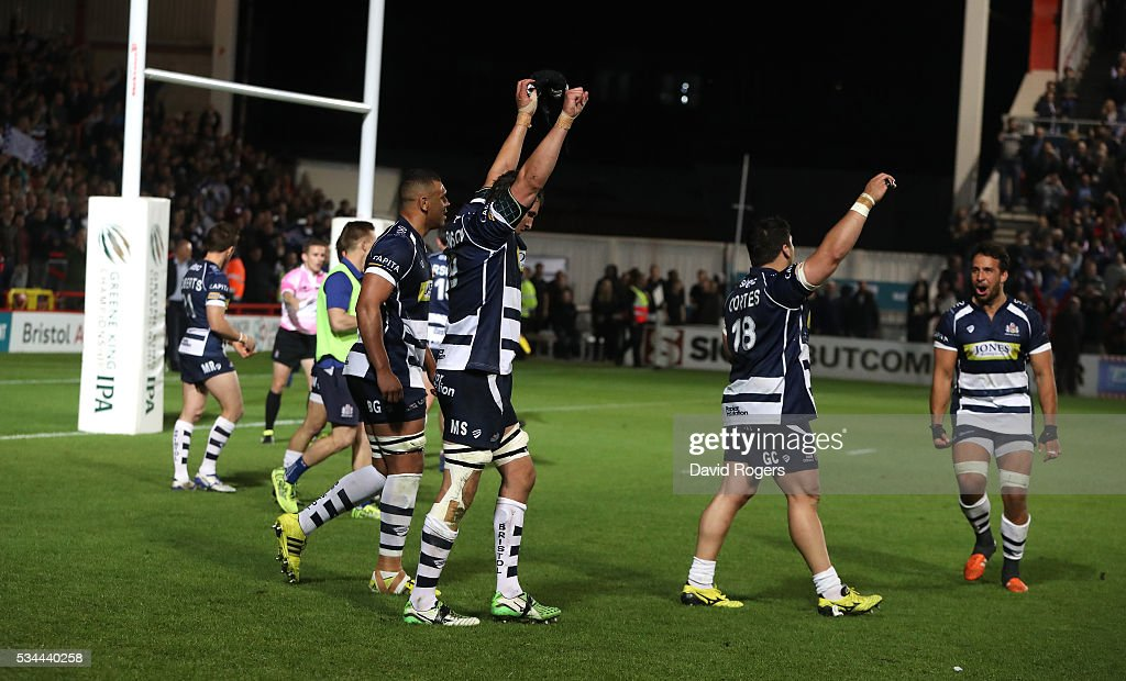 Bristol Rugby v Doncaster Knights - Greene King IPA Championship Play Off Final: Second Leg : News Photo