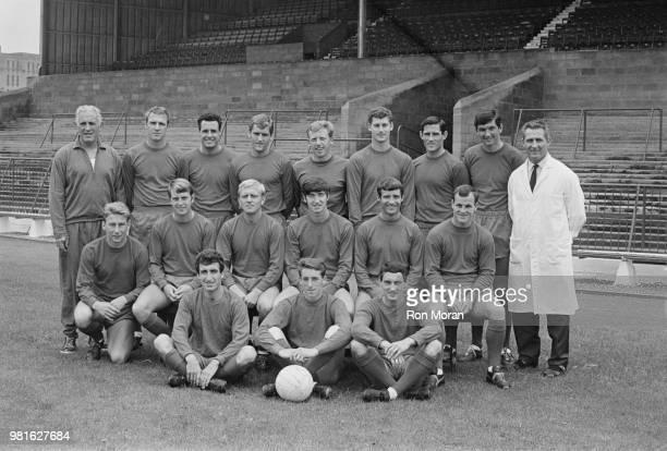 Bristol City FC group photo UK 23rd October 1967