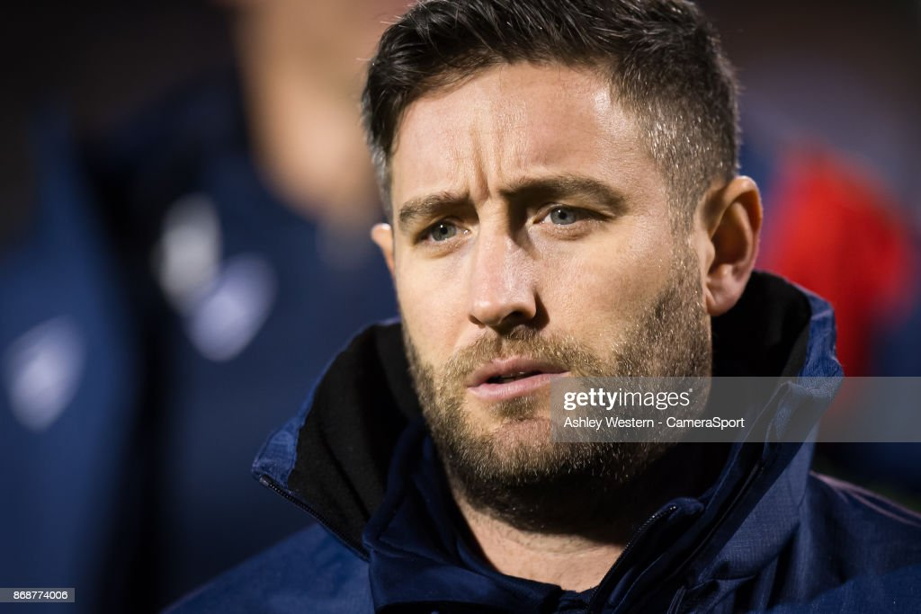 Bristol City manager Lee Johnson before the Sky Bet Championship match between Fulham and Bristol City at Craven Cottage on October 31, 2017 in London, England.