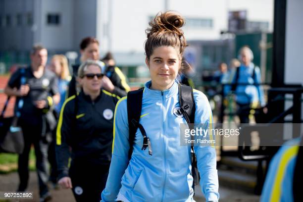 Bristol City Women v Manchester City Women Womens FA Cup Fifth Round Stoke Gifford Stadium Manchester City's Tessel Middag