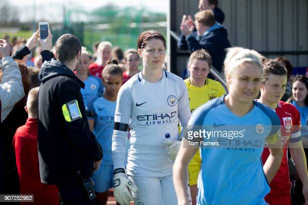 Bristol City Women v Manchester City Women Womens FA Cup Fifth Round Stoke Gifford Stadium Manchester City's Marie Hourihan in action against Bristol...