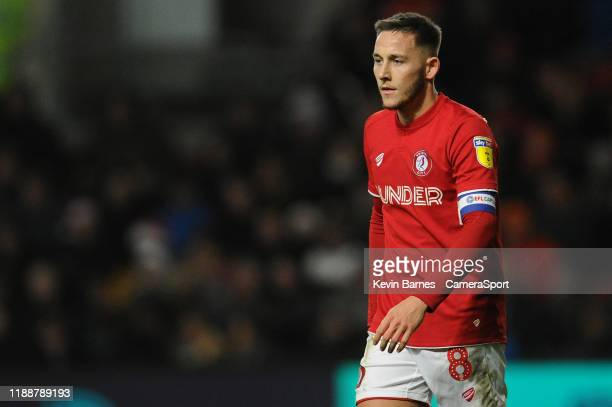 Bristol City's Josh Brownhill during the Sky Bet Championship match between Bristol City and Blackburn Rovers at Ashton Gate on December 14 2019 in...