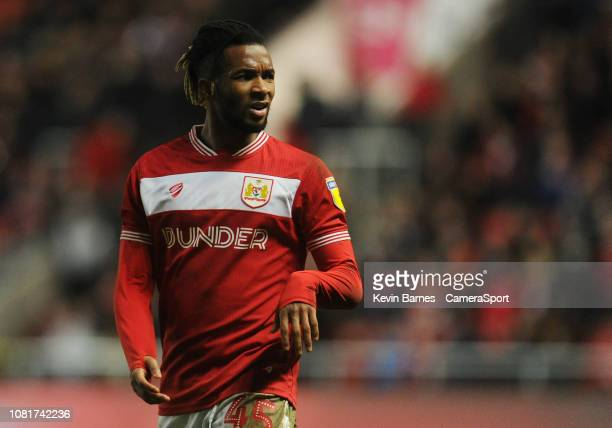 Bristol City's Kasey Palmer during the Sky Bet Championship match between Bristol City and Bolton Wanderers at Ashton Gate on January 12, 2019 in...
