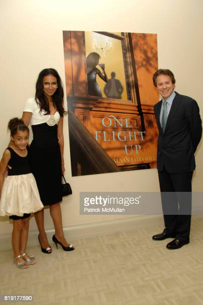 Bristol FalesHill Susan FalesHill and Will Zeckendorf attend Susan FalesHill's ONE FLIGHT UP Book Launch Party at 15 Central Park West on July 21st...