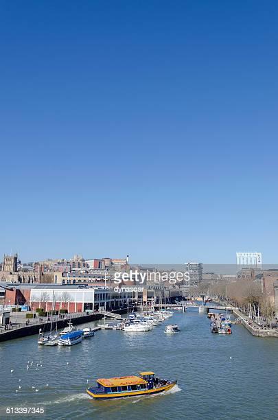 Bristol harbour, South West England