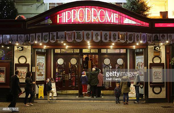 Bristol Hippodrome's exterior is seen as it host's its production of Dick Whittington on December 23 2014 in Bristol England Many theatres in the UK...
