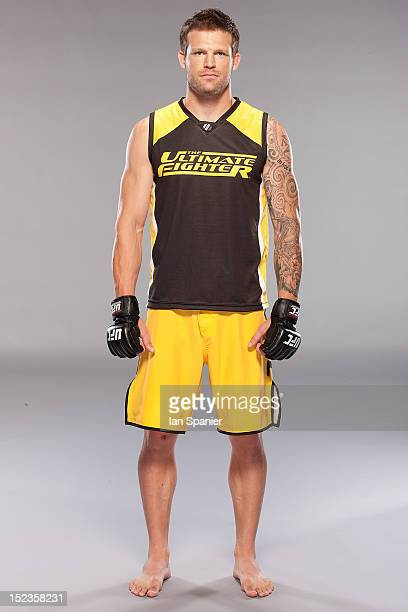 Bristol Marunde poses for a portrait during The Ultimate Fighter Season 16 photo day at the UFC gym on August 2 2012 in Las Vegas Nevada