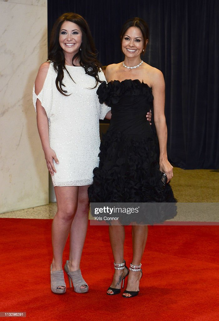 Bristol Palin and Brooke Burke attend the 2011 White House Correspondents' Association Dinner at the Washington Hilton on April 30, 2011 in Washington, DC.
