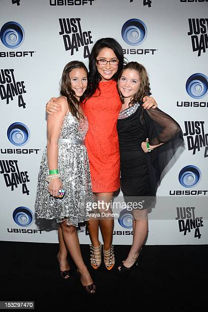 Bristol Palin and Piper Palin attend The Launch Of Just Dance 4 presented by Ubisoft at Lexington Social House on October 2 2012 in Hollywood...