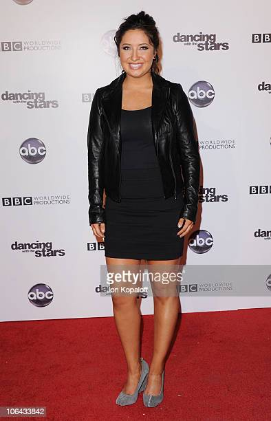 Bristol Palin arrives at the 'Dancing With The Stars' 200th Episode at Boulevard 3 on November 1 2010 in Hollywood California