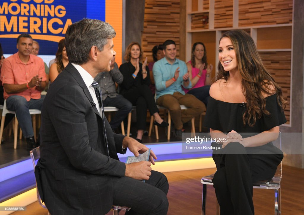 AMERICA - Bristol Palin is a guest on 'Good Morning America,' Tuesday September 18, 2018 on ABC. GEORGE