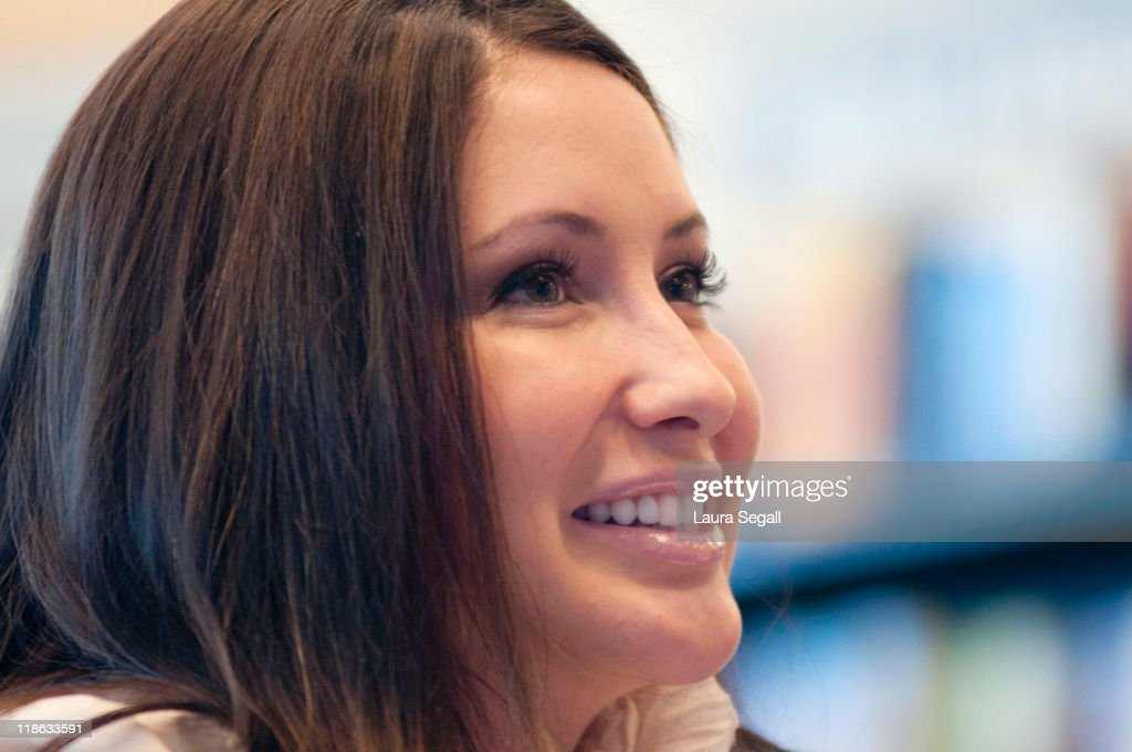 """Bristol Palin Signs Copies Of Her New Book """"Not Afraid Of Life: My Journey So Far"""" : News Photo"""