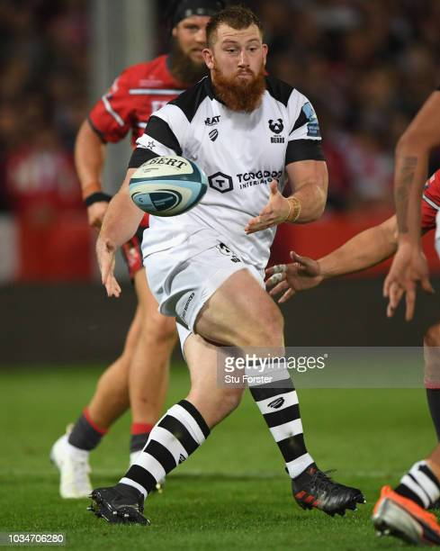 Bristol player Jake Woolmore in action during the Gallagher Premiership Rugby match between Gloucester Rugby and Bristol Bears at Kingsholm Stadium...