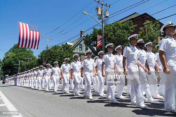 Bristol Rhode Island, la Parade du 4 juillet