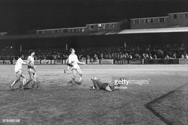 Bristol Rovers 1-2 Reading, Division Two league match at Eastville Stadium, Wednesday 27th August 1986. Reading No.11 Paul Canoville in action.