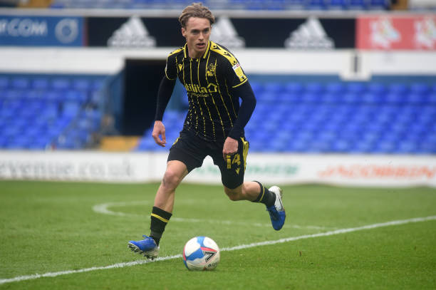 Bristol Rovers' Luke McCormick during the Sky Bet League One match between Ipswich Town and Bristol Rovers at Portman Road on April 2, 2021 in...