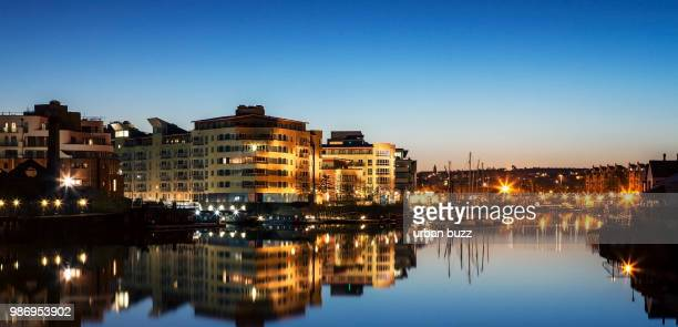 Bristol Waterfront at night