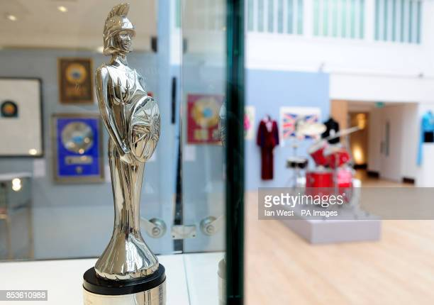 A Brit Award won by Oasis for What's The Story Morning Glory est pound40006000 and the drum kit used by Tony McCarroll used on the bands first album...