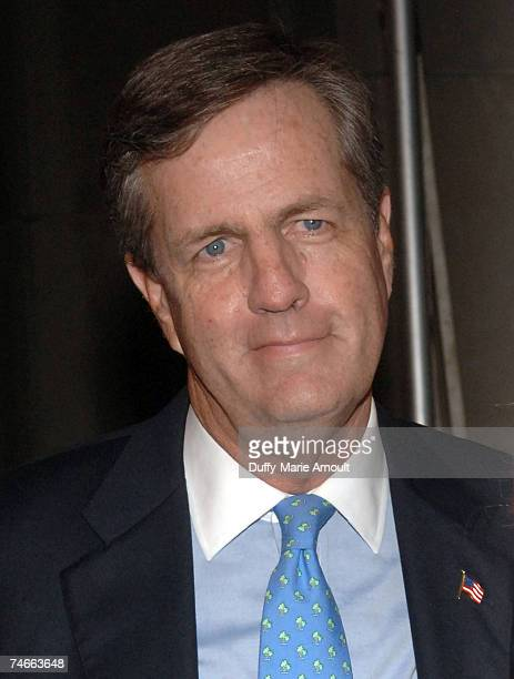 Brit Hume at the News Corporation building in New York City New York