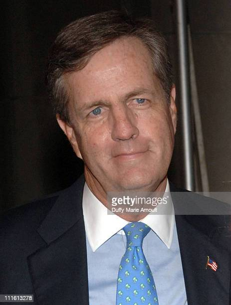 Brit Hume during FOX News Channel's 10th Anniversary VIP Party Hosted by Rupert Murdoch and Roger Ailes at News Corporation building in New York City...