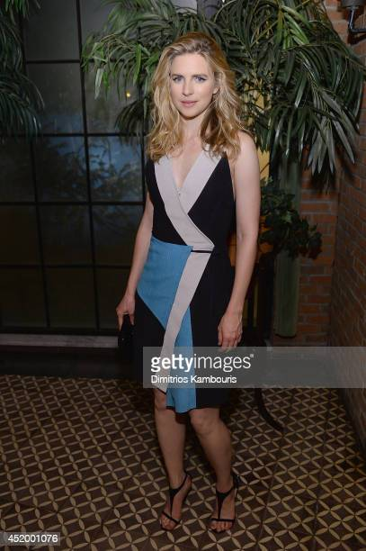 Brit Marling attends the after party for I Origins screening at Bowery Hotel Terrace on July 10 2014 in New York City