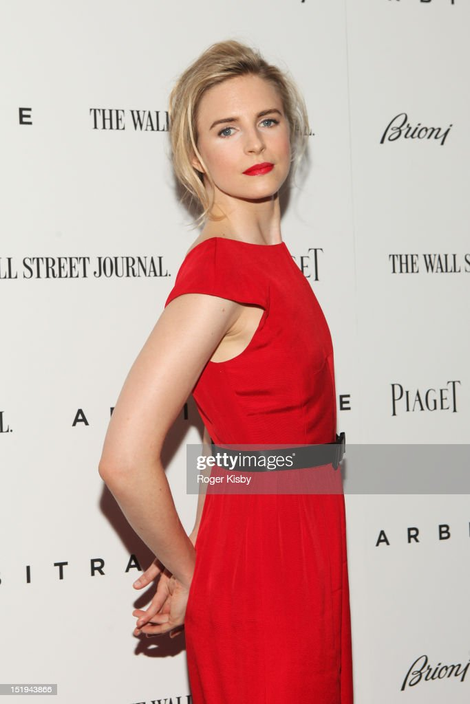 Brit Marling attends the 'Arbitrage' New York Premiere at Walter Reade Theater on September 12, 2012 in New York City.