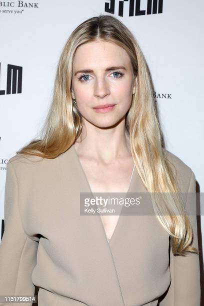 Brit Marling poses for a photo on the red carpet at THE OA Pt II Screening And QA At The Castro Theatre March 20 2019 in San Francisco California