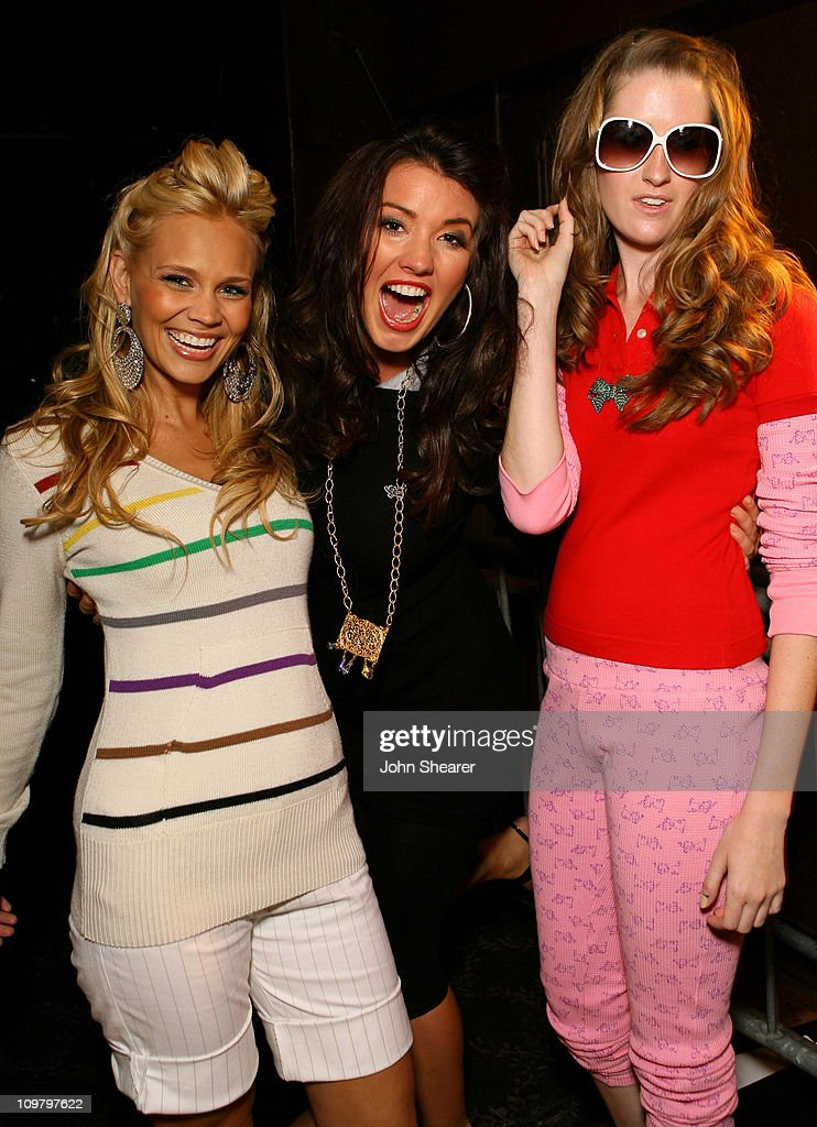 Brita Petersons, Brittany Brower and Amanda Babin during Seventeen's Rock-N-Style Concert and Fashion Show - Red Carpet and Inside at Avalon in Los Angeles, California, United States.