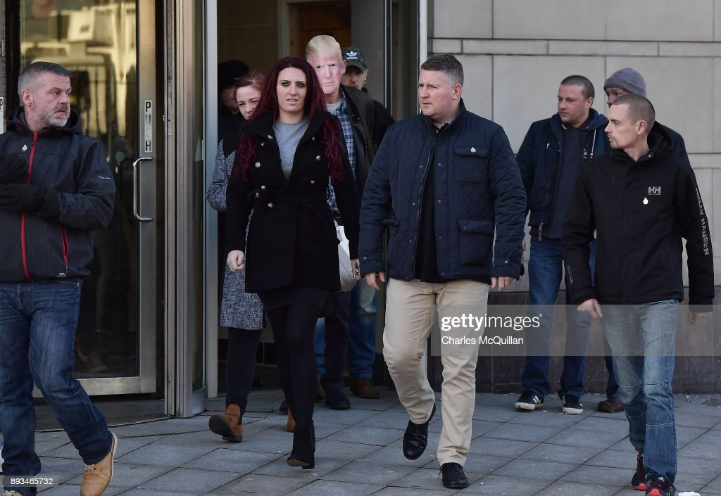 Both Leaders Of Britain First In Court In Belfast