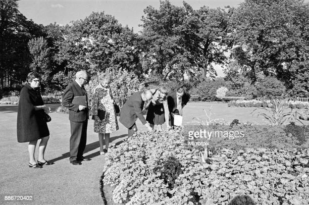 Britain in Bloom judges in Middlesbrough 1972