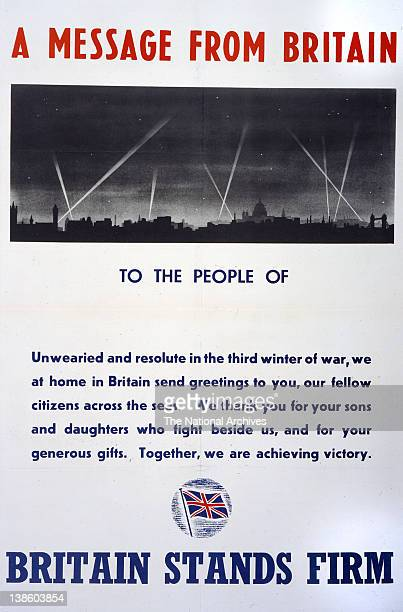 Britain Stands Firm poster 19391945