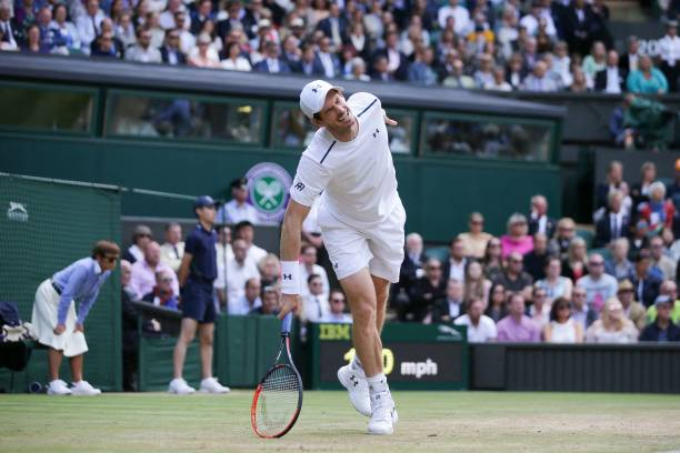 Andy Murray at Wimbledon 2017