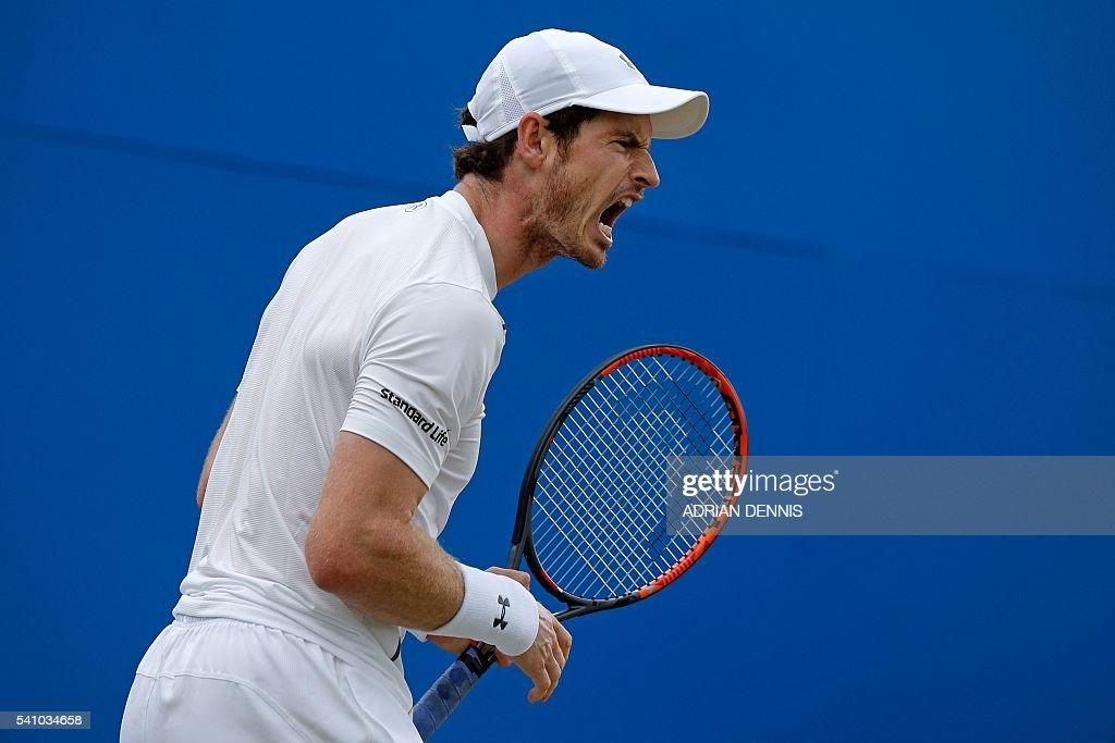 TENNIS-GBR-ATP-QUEENS : News Photo