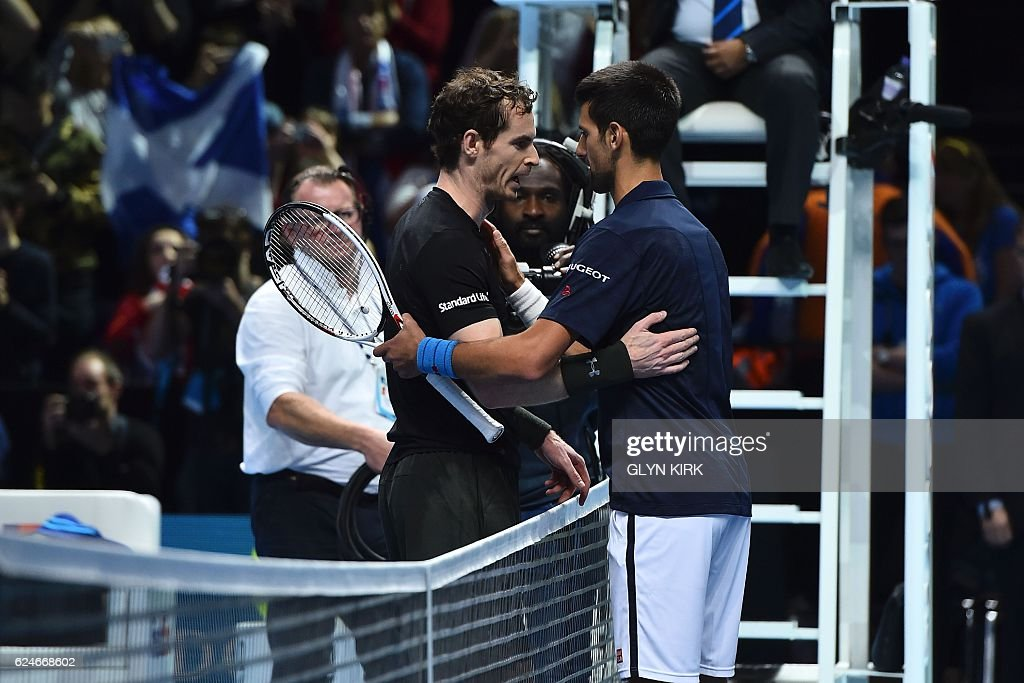 TENNIS-GBR-ATP-FINALS-TROPHY : News Photo