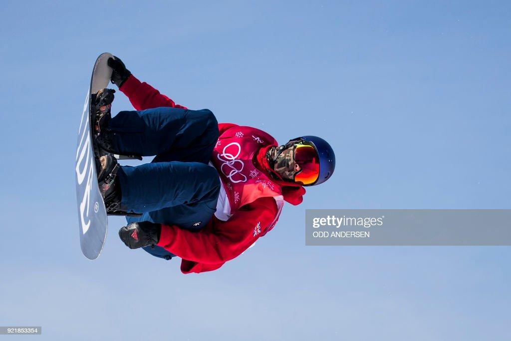 SNOWBOARD-OLY-2018-PYEONGCHANG : News Photo