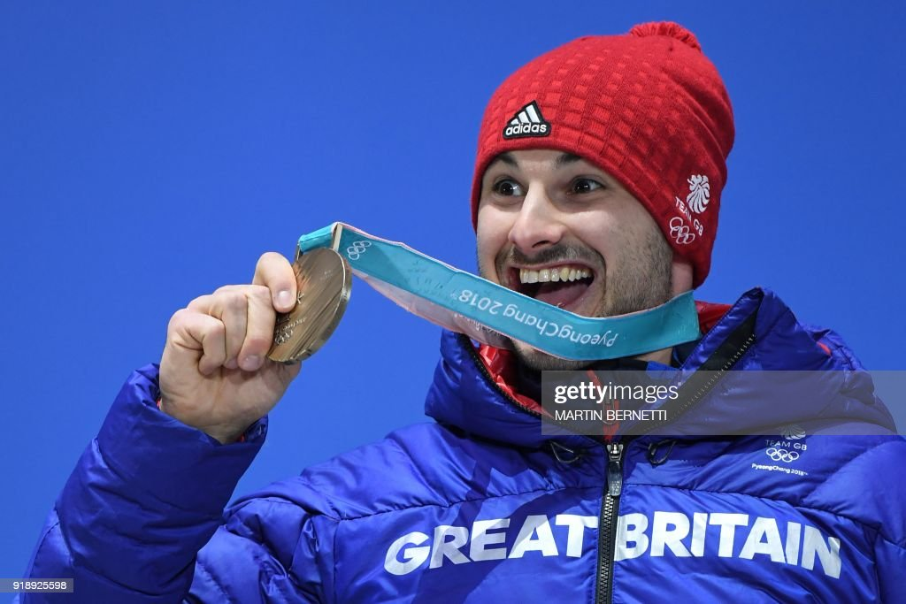 SKELETON-OLY-2018-PYEONGCHANG-MEDALS : News Photo