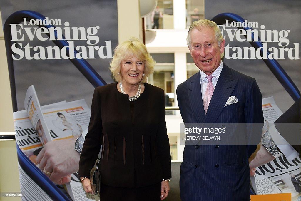 BRITAIN-ROYALS-MEDIA : News Photo