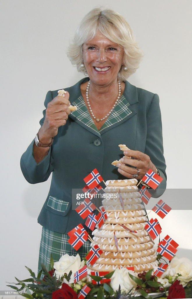 BRITAIN-NORWAY-ROYALS : News Photo