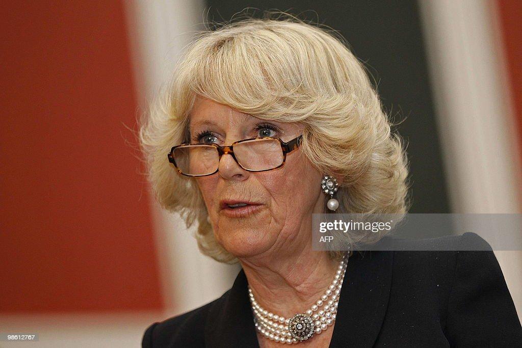 Britain's Camilla, Duchess of Cornwall, : News Photo