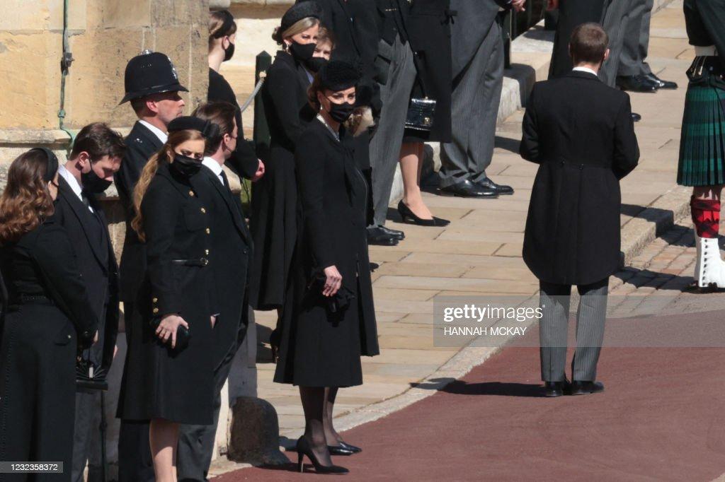 BRITAIN-ROYALS-PHILIP-FUNERAL : ニュース写真