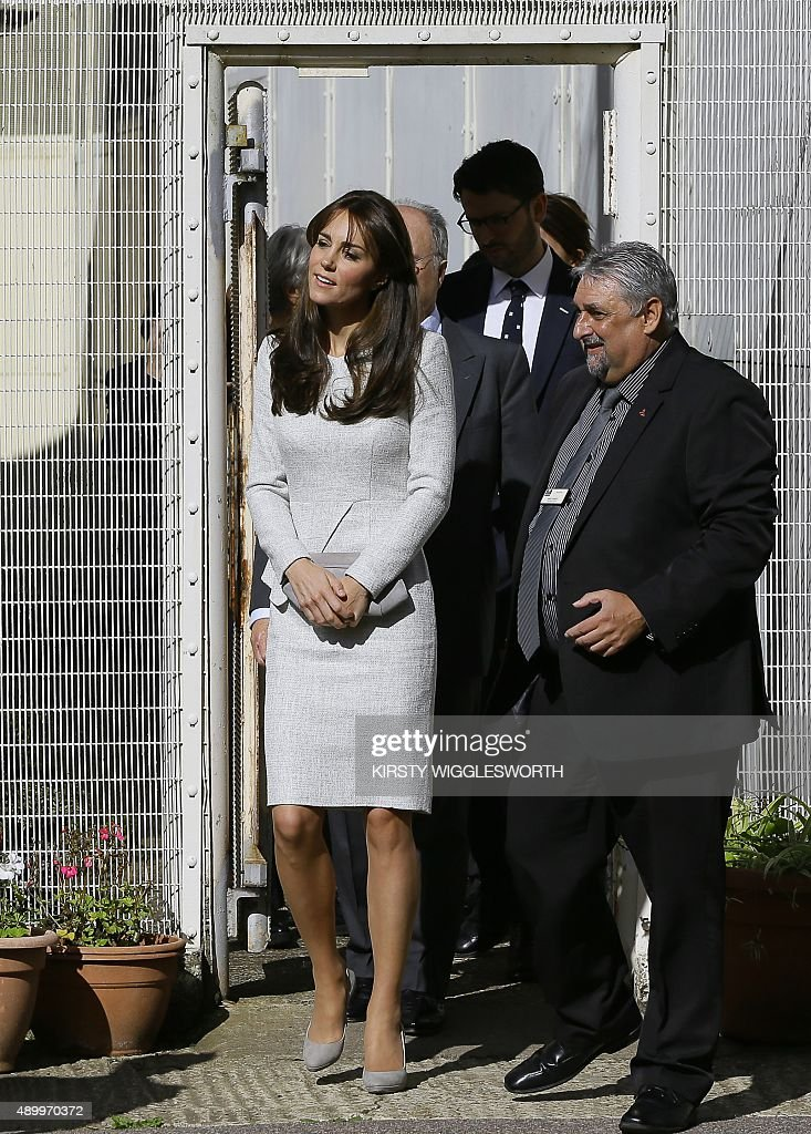BRITAIN-ROYAL-SOCIAL-PRISON : News Photo