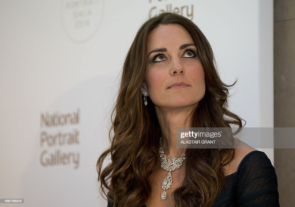 BRITAIN-ROYALS-ART-PORTRAIT-GALA : News Photo