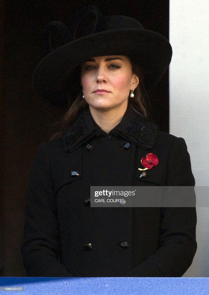 BRITAIN-POLITICS-ROYAL-REMEMBRANCE : News Photo