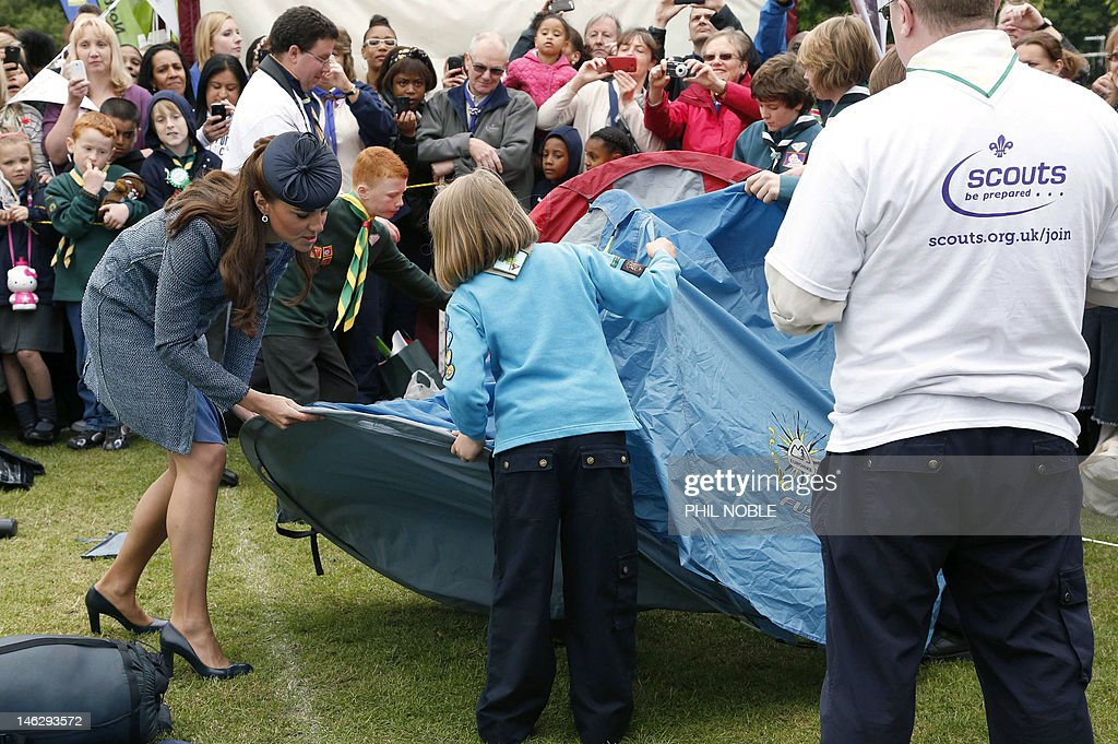 BRITAIN-ROYALS-JUBILEE : News Photo